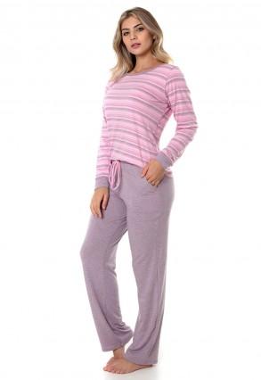 Pijama inverno sensações Cherry moda íntima .